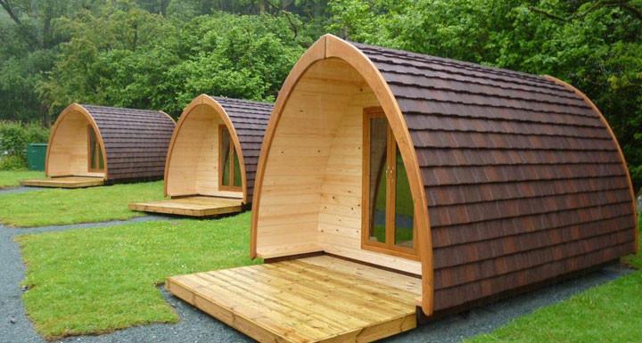 Pod camping Somerset