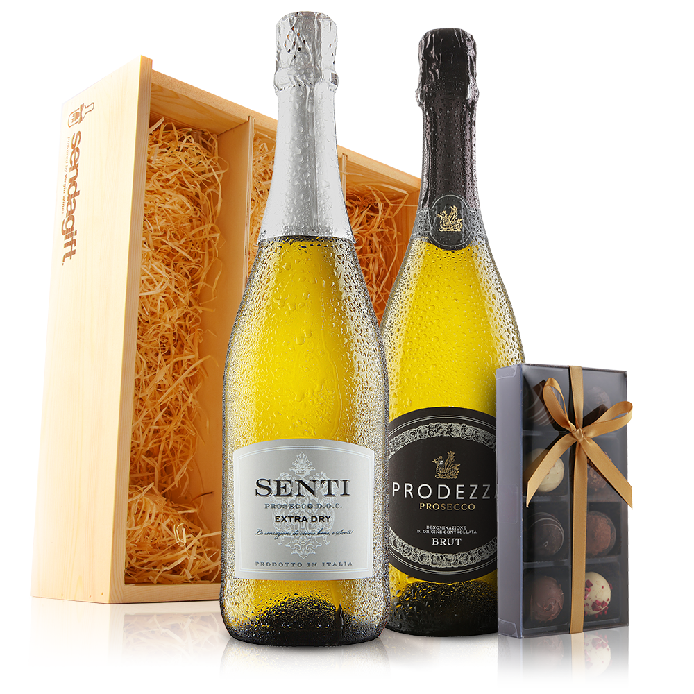 Prosecco Duo with Chocolates