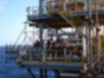 plataforma de petroleo offshore expander manutenção trocador de calor, permutador, condensador,