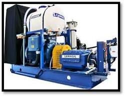 Limpeza hidrojateamento UHP