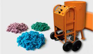 preparação de superficie, jato de granalha sem poeira, macseal, sponge jet, jateamento, rugosidade, esponja, granalha