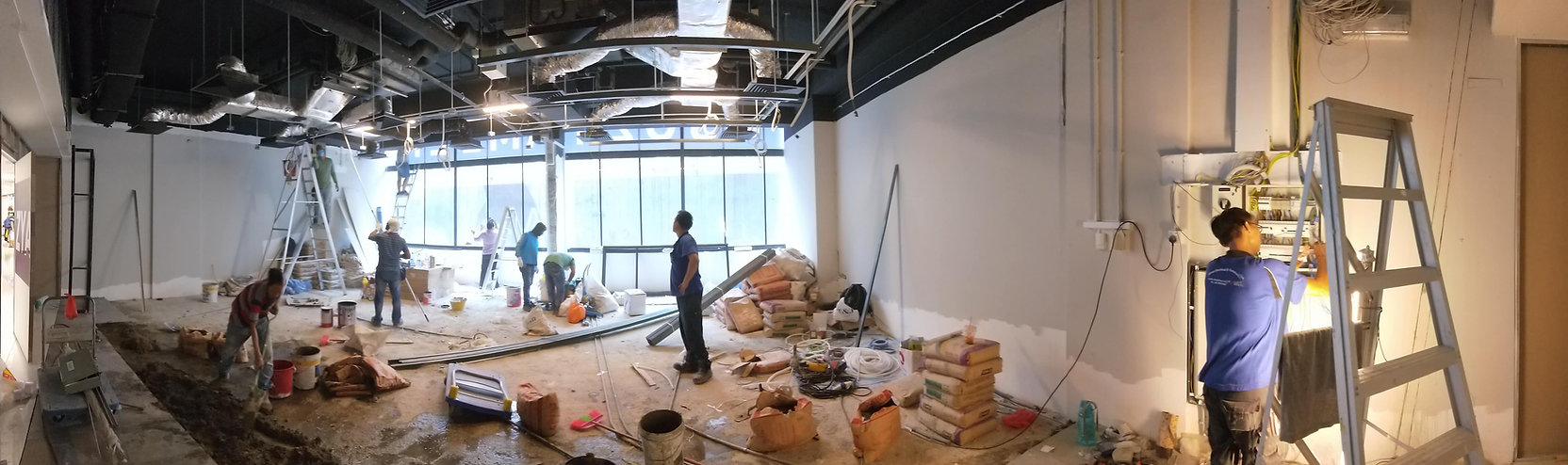 Renovation site in progress