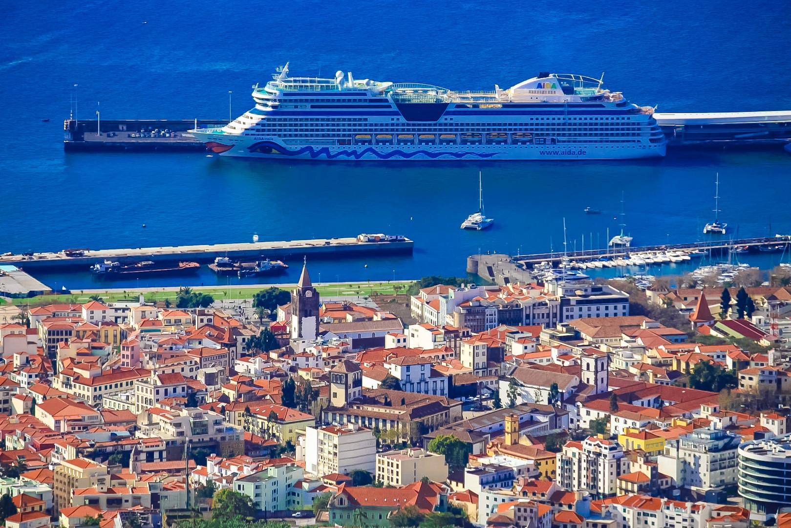 Porto Of Funchal - Madeira Island