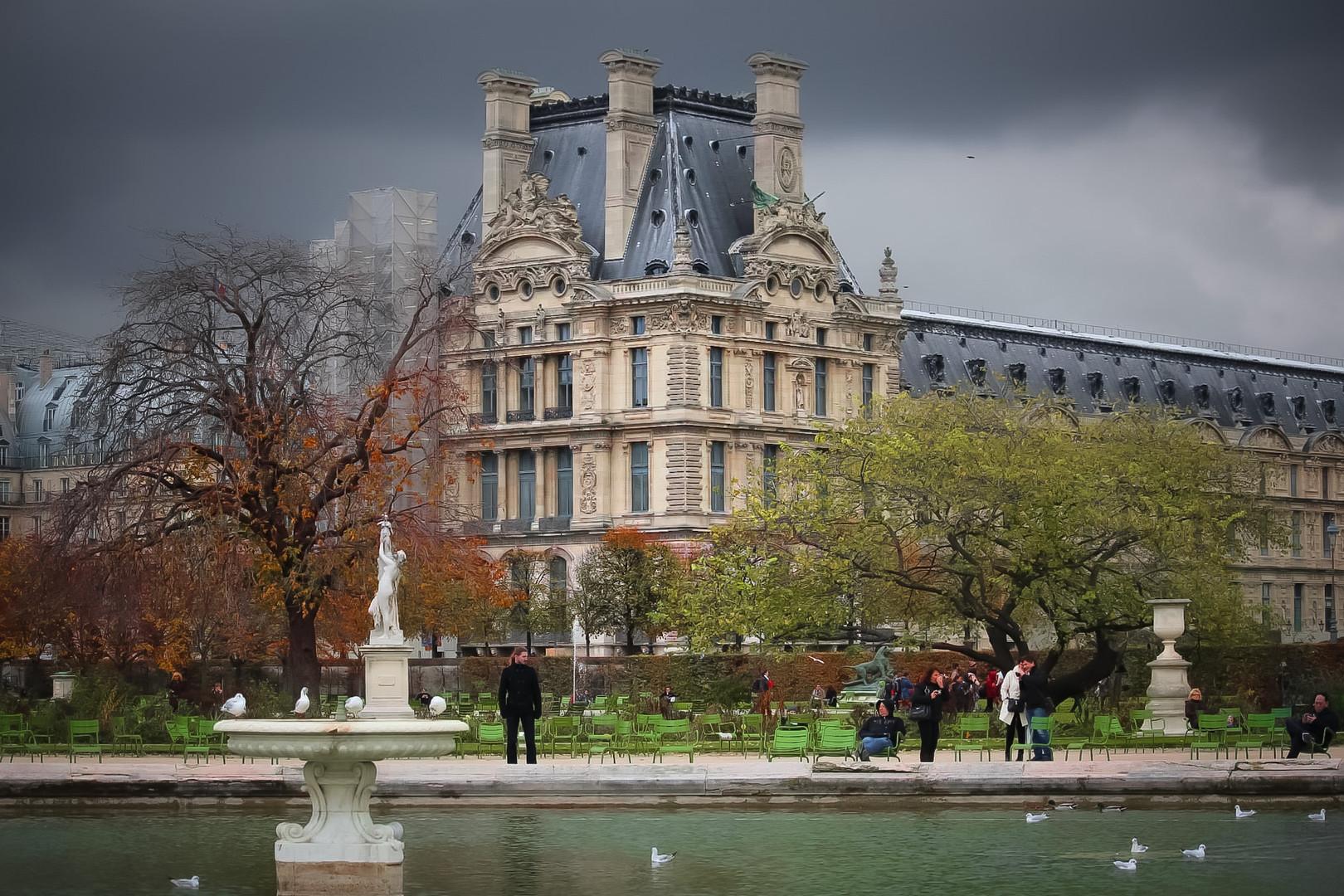 Gardens of  Tuileries - Paris