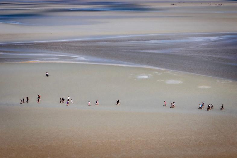 Areia Movediça-Monte Saint Michael