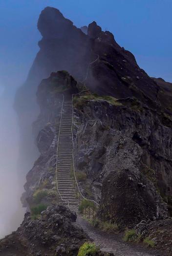 Pedra Rija - Pico do Arieiro - Madeira Island
