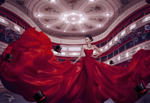 Lady In Red Opera