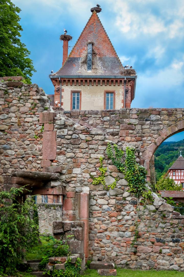 Munster - l'abbaye of Saint Grégoire - Alsace