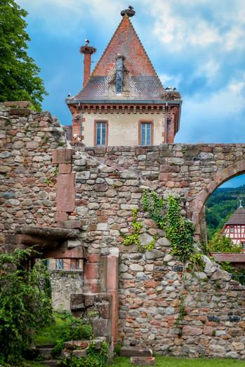 Munster  l'abbaye de Saint-Grégoire - Alsace