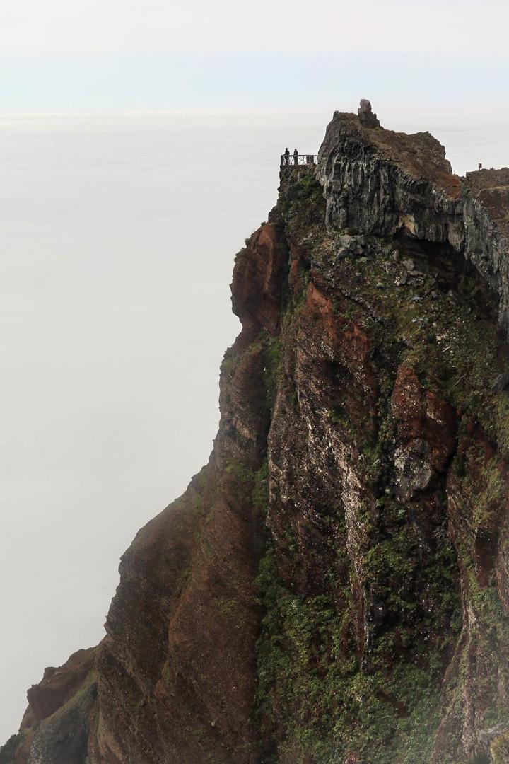 Snow Pit - Peak Of Areeiro - Madeira Island
