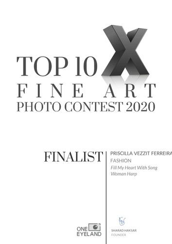 Finalist (Fashion)Fill My Heart With Song Woman Harp