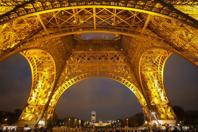 Champs de Mars -Torre Eiffel