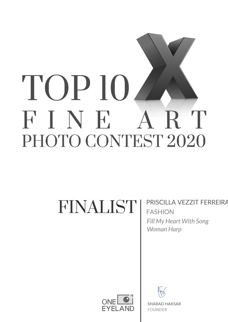Finalist Fashion- Fill My Heart With Song Woman Harp