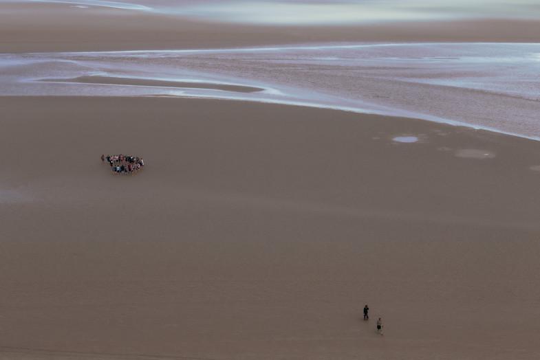 Areia Movediça -Monte Saint Michael