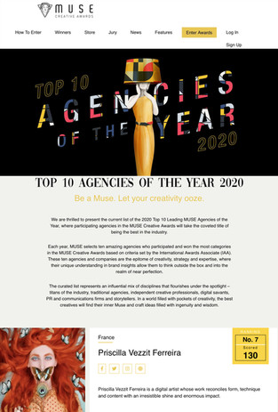 Ranking 7 -Top 10 Agencies Of The Year 2020