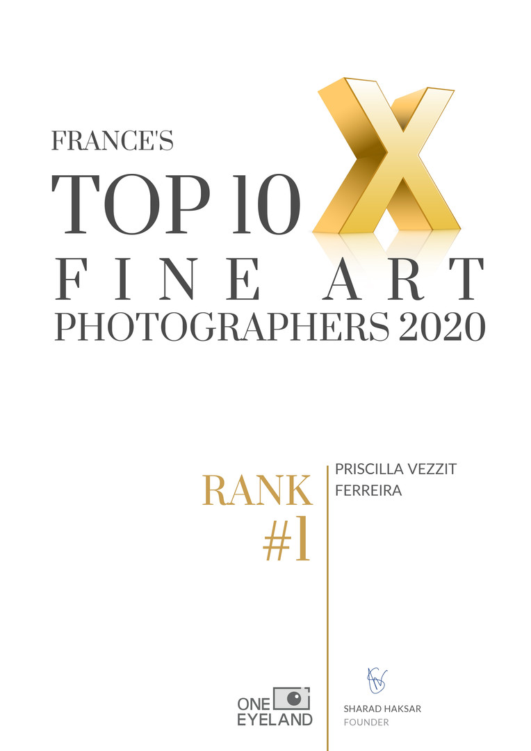 #Rank1 (France) Top 10 Fine Art Photographers 2020