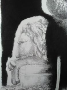 Des montagnes de silences (détail)
