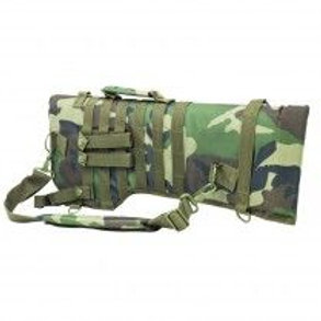 VISM® by NcSTAR® TACTICAL RIFLE SCABBARD/WOODLAND CAMO