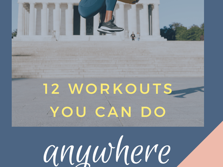 Travel Workout Guide!