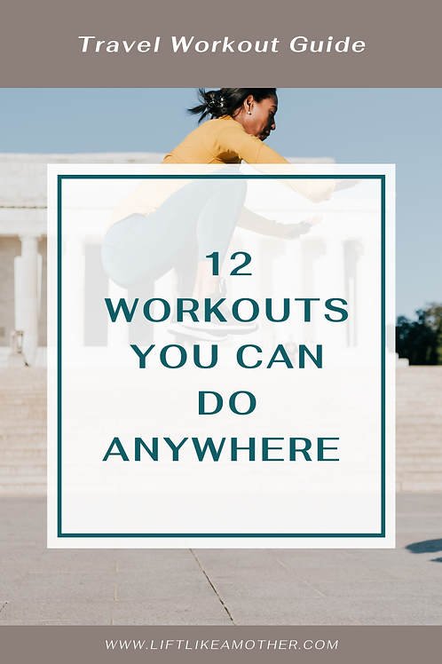 Travel Workout Guide