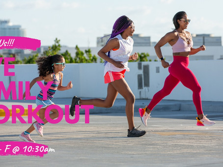Let's Workout Together but Apart!