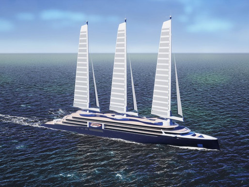 Cruise Ships Powered by Sails?