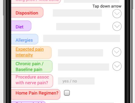 PreEmpt Pain App. Exercise 1. Demographics.