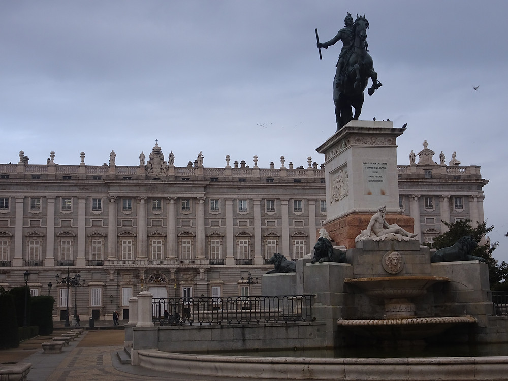 הארמון המלכותי במדריד צילום: אושרת אביחצירה פרזם