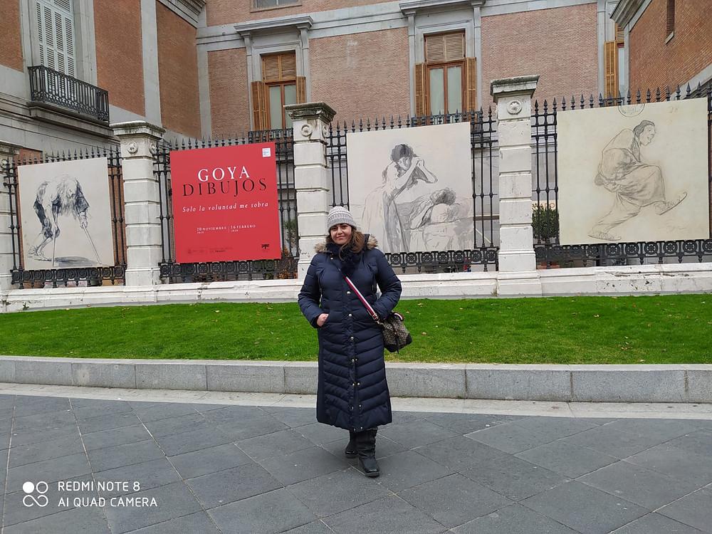 אושרת אביחצירה פרזם במוזיאון הפראדו מדריד