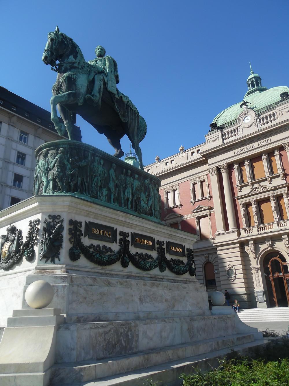 כיכר הרפובליקה פסל הנסיך מיכאלו צילום: אושרת אביחצירה פרזם