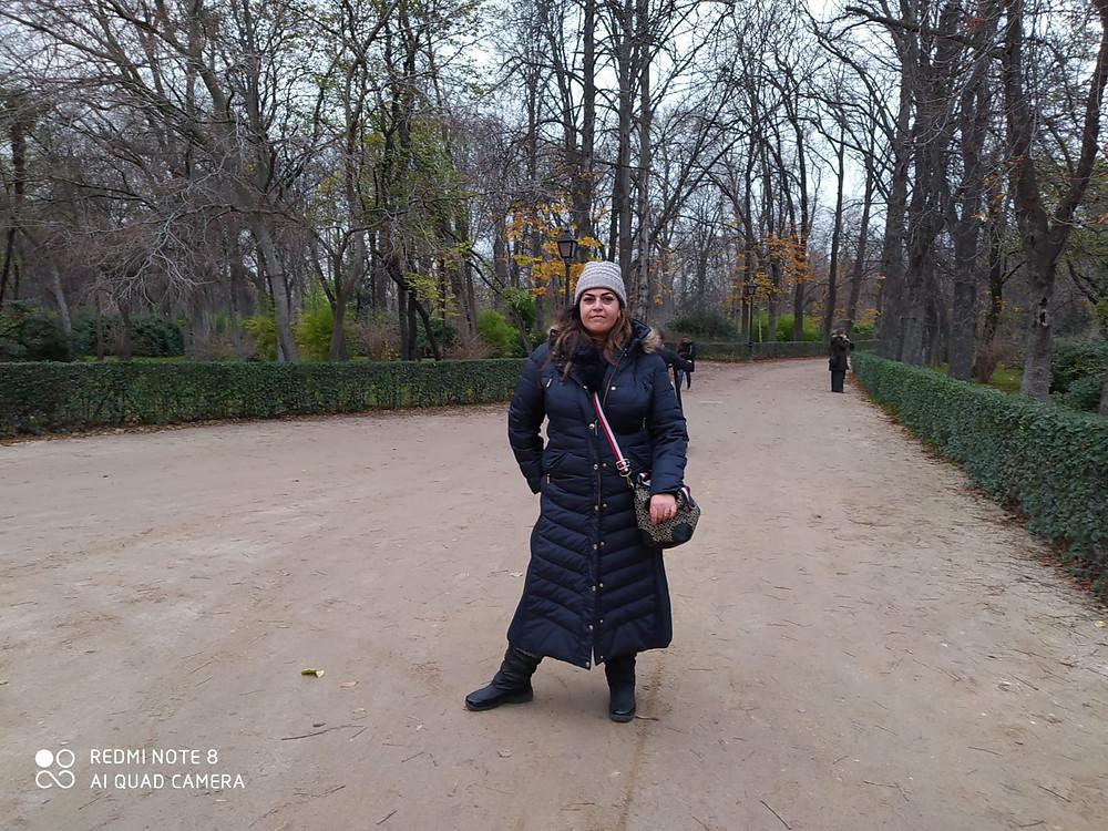 אושרת אביחצירה פרזם פארק בואן רטרו מדריד