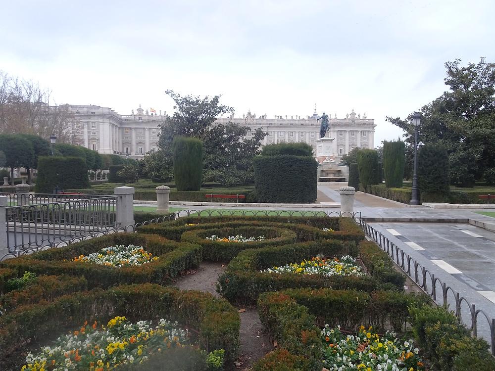 גני הארמון המלכותיתי במדריד צילום: אןשרת אביחצירה פרזם