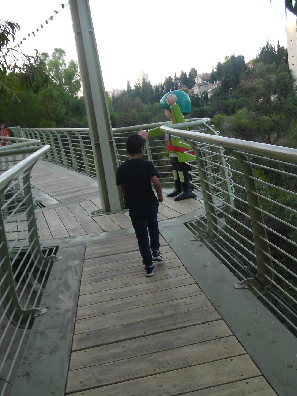 אופיר במרוץ פליימוביל בגן הבוטני. צילום:אושרת אביחצירה פרזם