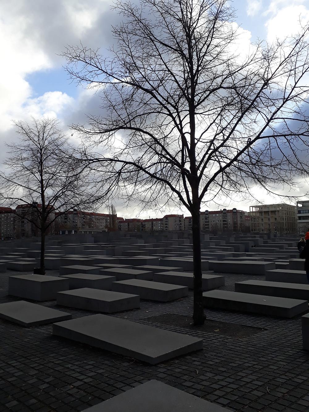 אנדרטה לזכר יהודי אירופה שנרצחו בברלין צילום: אושרת אביחצירה פרזם