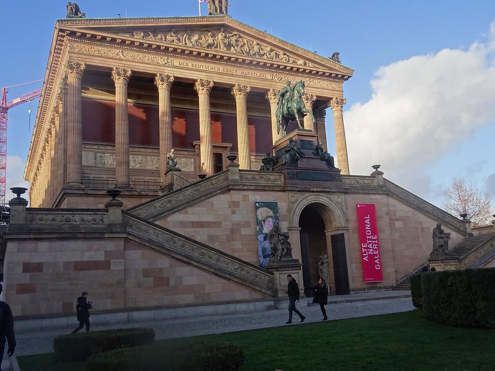 המוזיאון הלאומי הישן בברלין צילום: אושרת אביחצירה פרזם