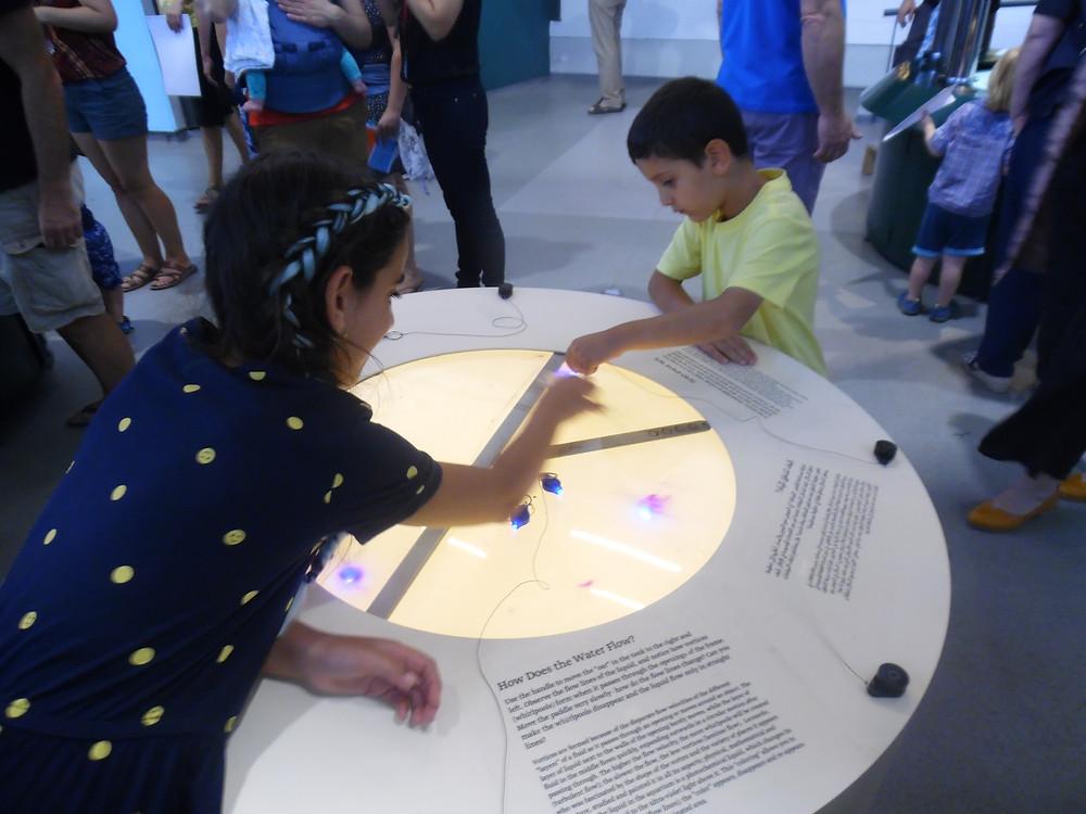 שירה ואופיר מוזיאון המדע צילום:אושרת אביחצירה פרזם