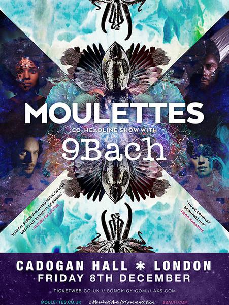 Moulettes & 9Bach 2017 Tour