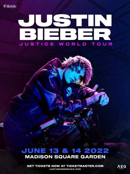 Justin Bieber - Justice World Tour