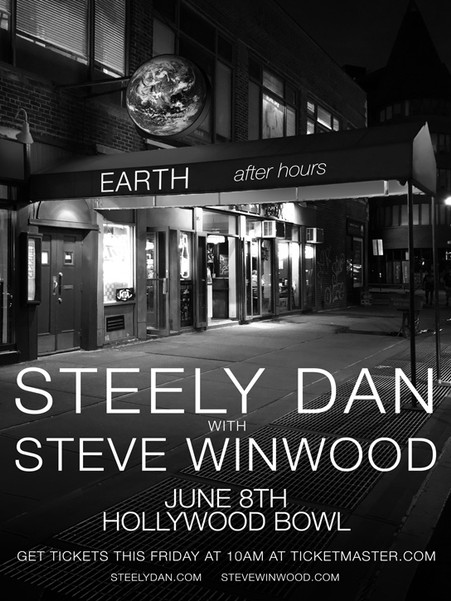 Steely Dan - Earth After Hours Tour 2019