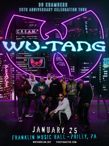 Wu-Tang Clan - 36 Chambers Anniversary Tour 2019