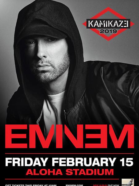 Eminem - Kamikaze Tour 2019