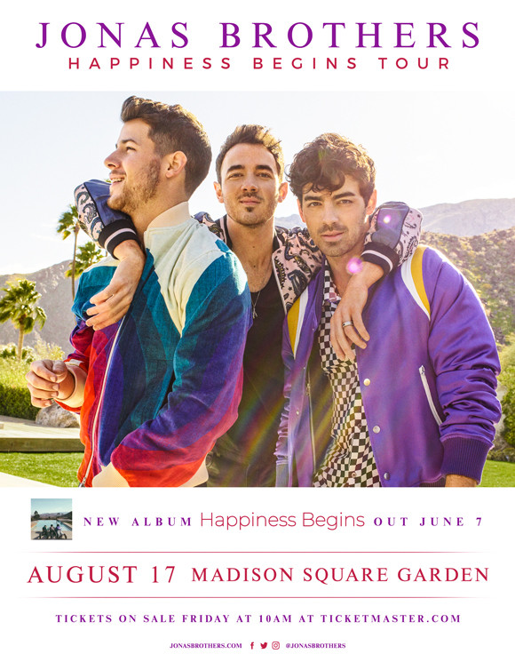 Jonas Brothers - Happiness Begins Tour 2019