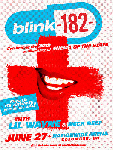 Bllink 182 - Enema of the State Anniversary Tour 2019
