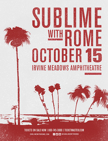 Sublime with Rome 2016 Tour