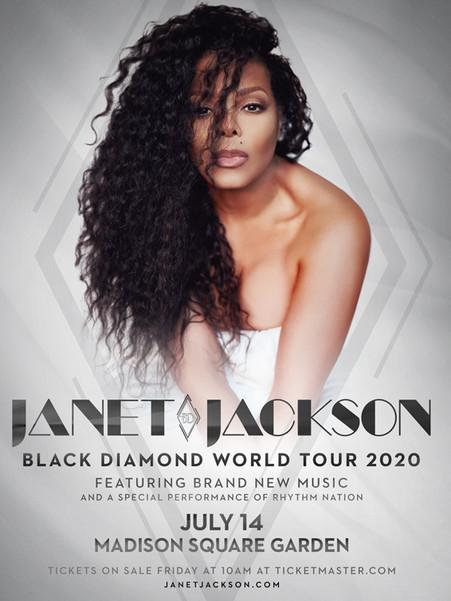 Janet Jackson - Black Diamond World Tour 2020