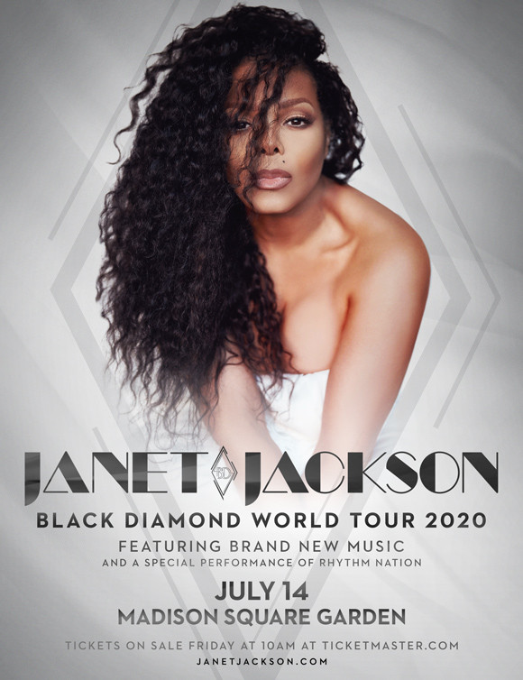 Janet Jackson - Black Diamond World Tour 2020