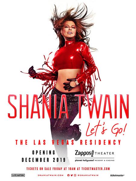 Shania Twain - Lets Go! Las Vegas Residency