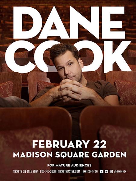 Dane Cook 2018 Tour