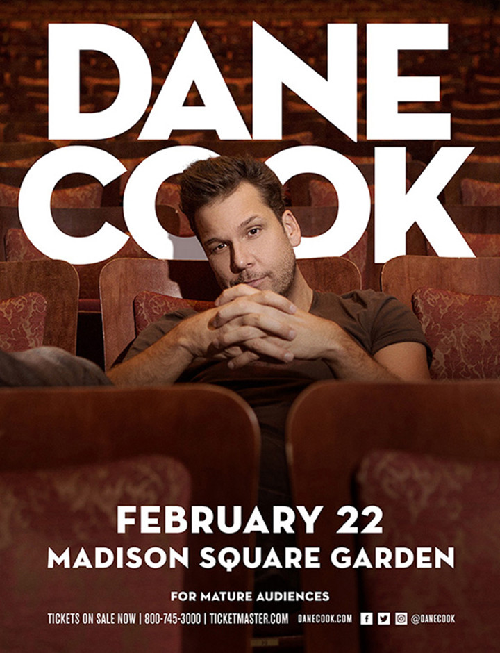 Dane Cook 2018 Tour