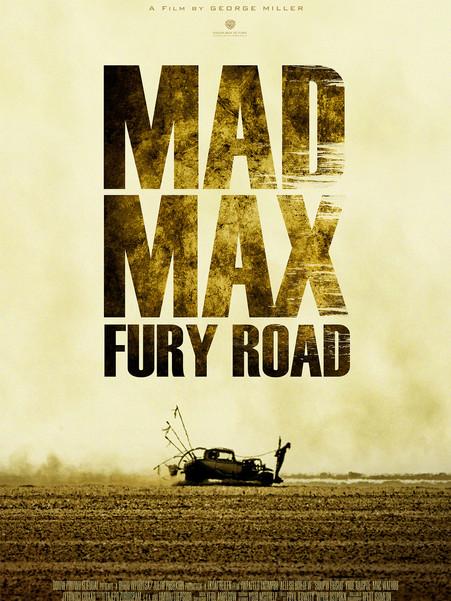 MadMax Fury Road spec poster